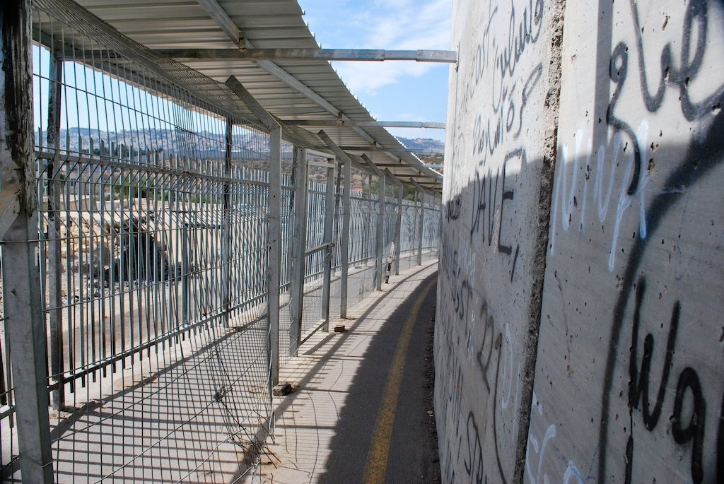 West Bank_ Bethlehem checkpoint
