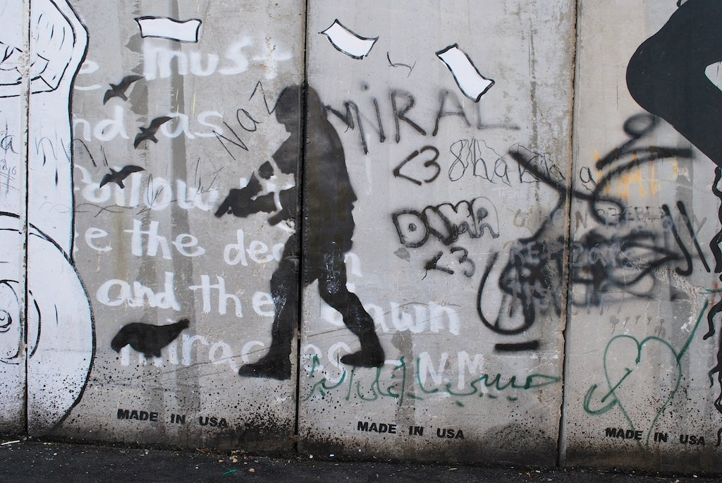 Bethlehem_separation wall_graffiti