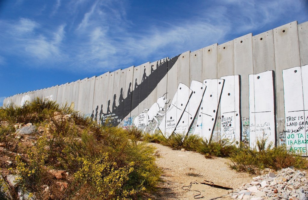 West Bank_Palestine_Bethlehem_separation wall