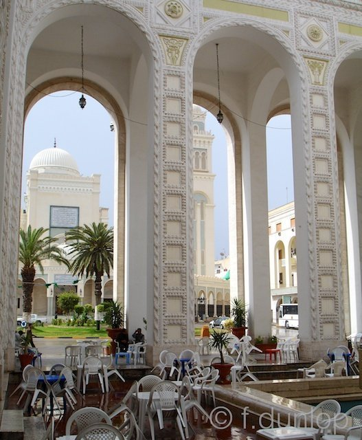 Tripoli colonnade
