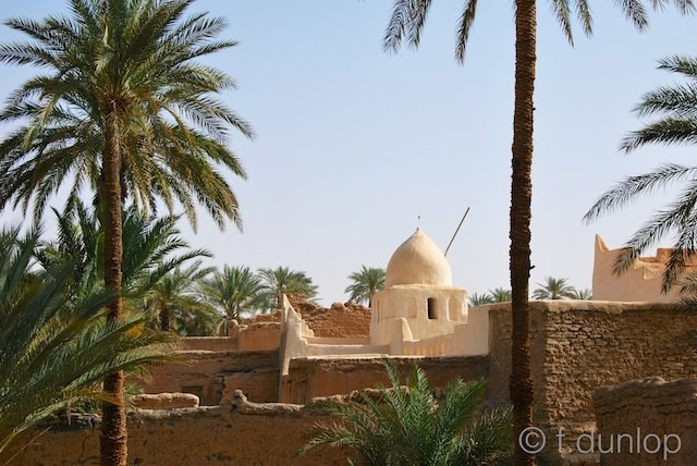 Ghadames: Sufi mosque & dry-stone walls