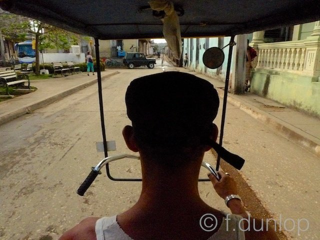 Baracoa rickshaw view