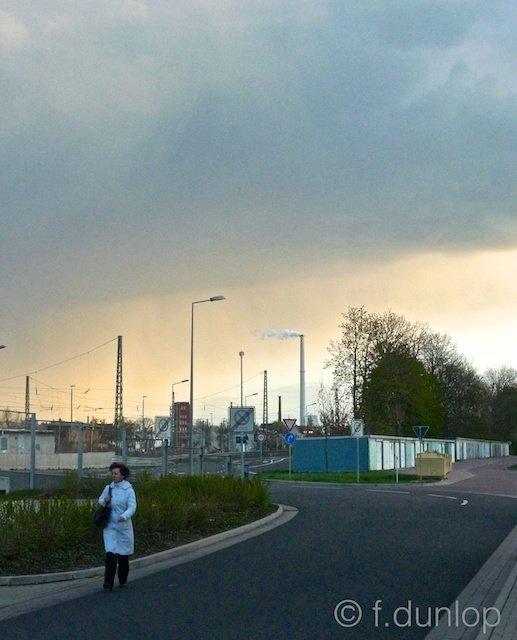 Dessau industrial landscape