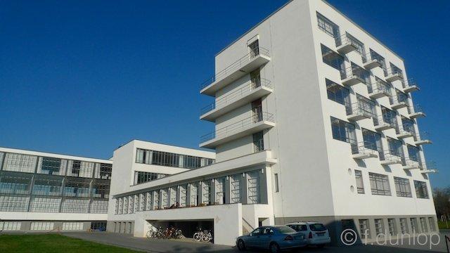 Dessau rebuilt Bauhaus school
