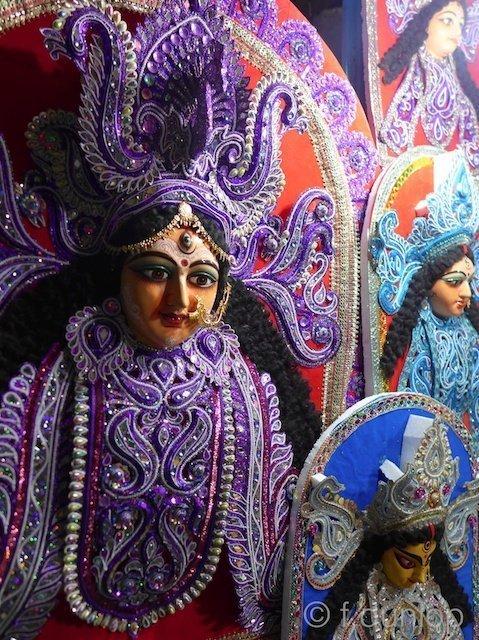 Durga + Kolkata's goddess