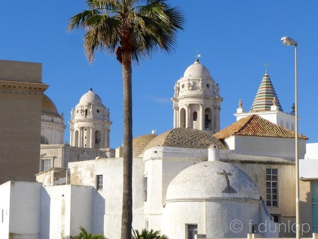 Spain+Cadiz+cathedral+back