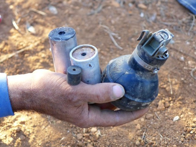 West_Bank_olive_grove_tear_gas_canister