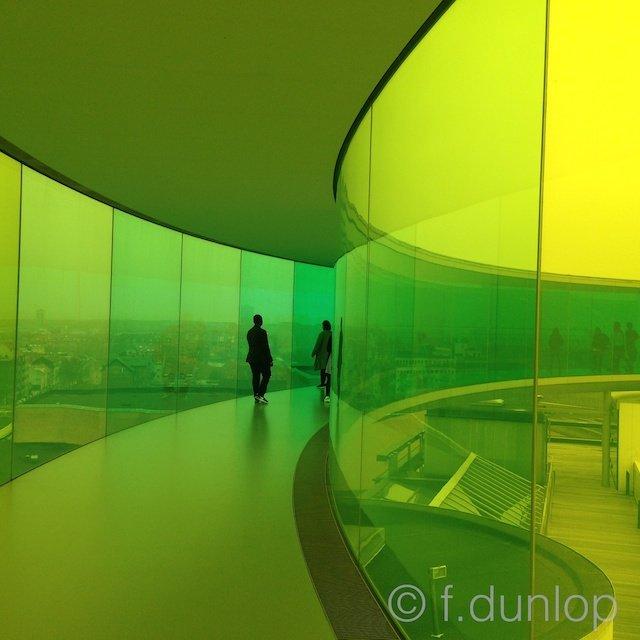 Aarhus ARoS Eliasson's rainbow