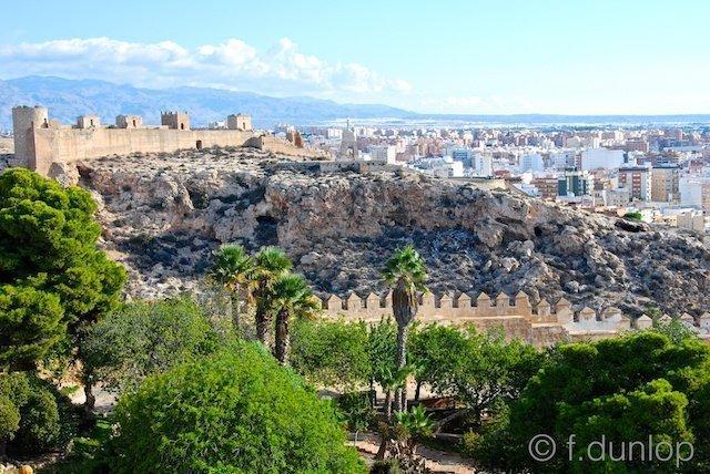 Almeria_alcazar_walls_castle