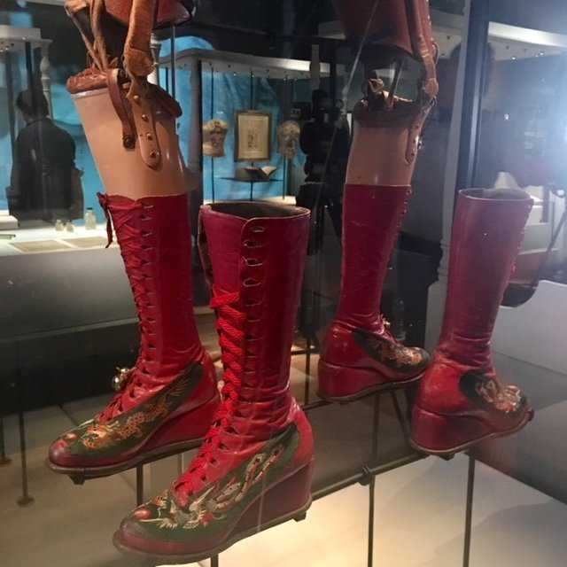 Frida Kahlo:Making Her Self Up - prosthetic leg
