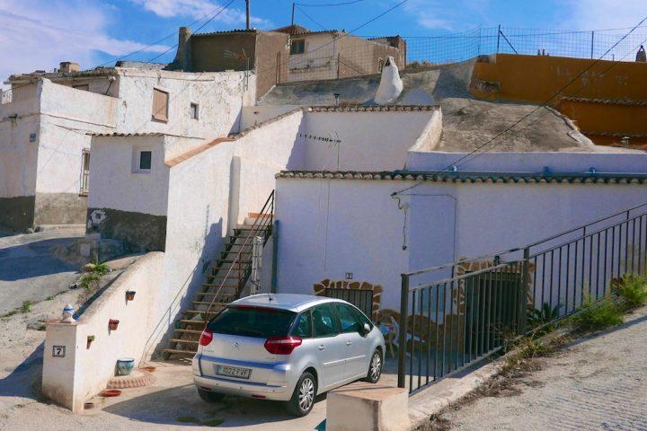 Guadix cave-house