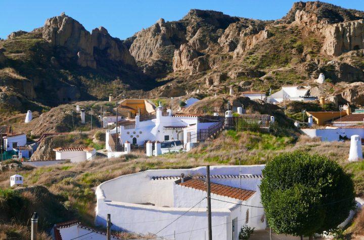 Guadix cave-houses