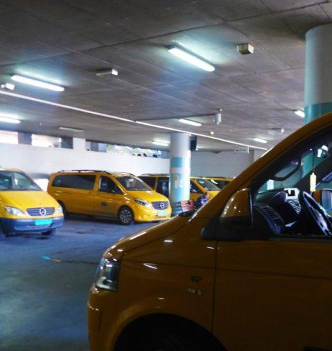 West Bank service taxi terminal