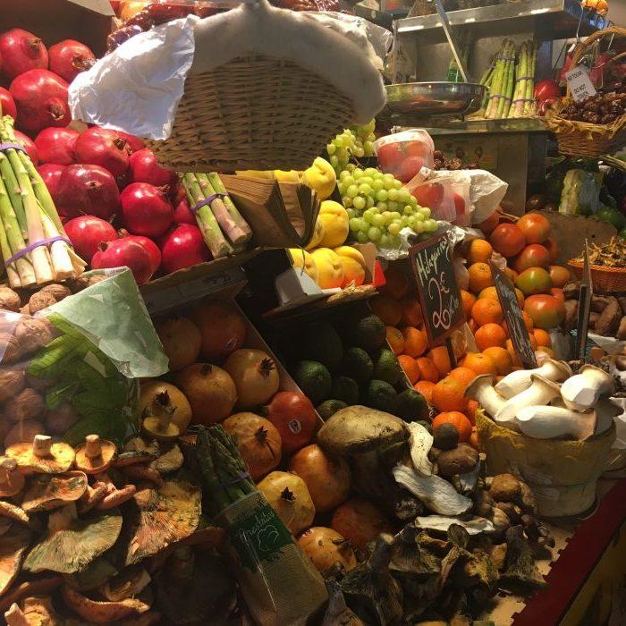 Ararazanas market Malaga