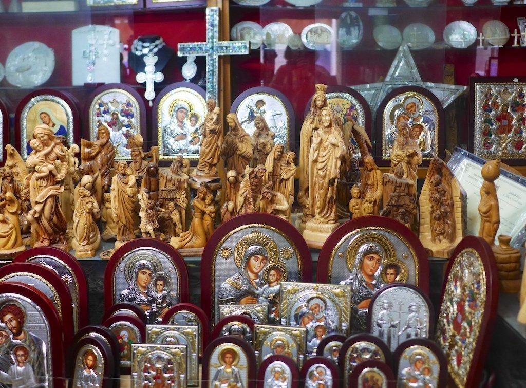 Bethlehem religious souvenirs