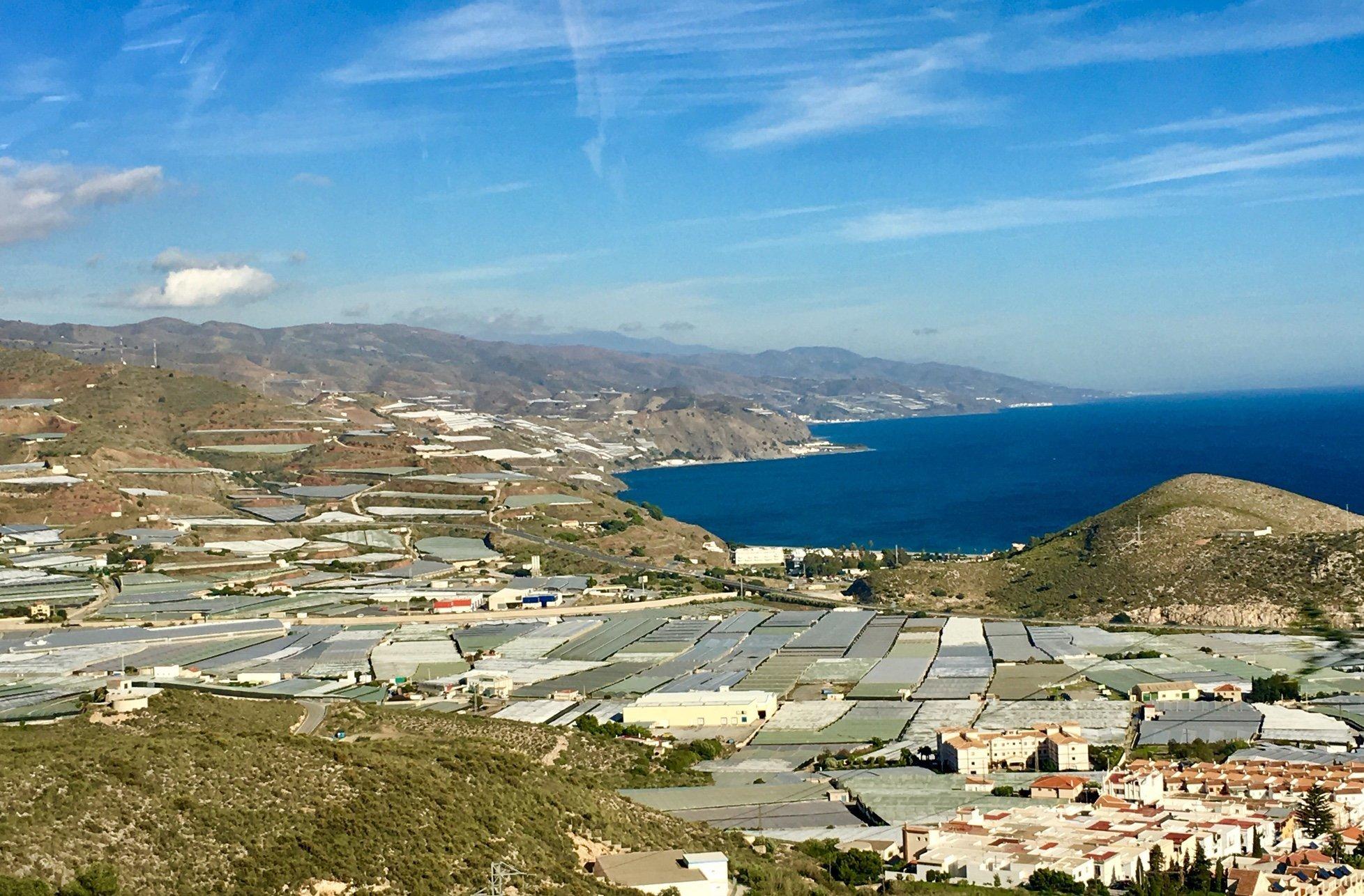 Almeria province polytunnels