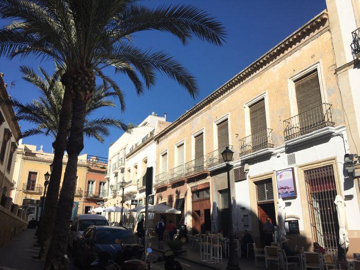 Almeria calle Jovellanos