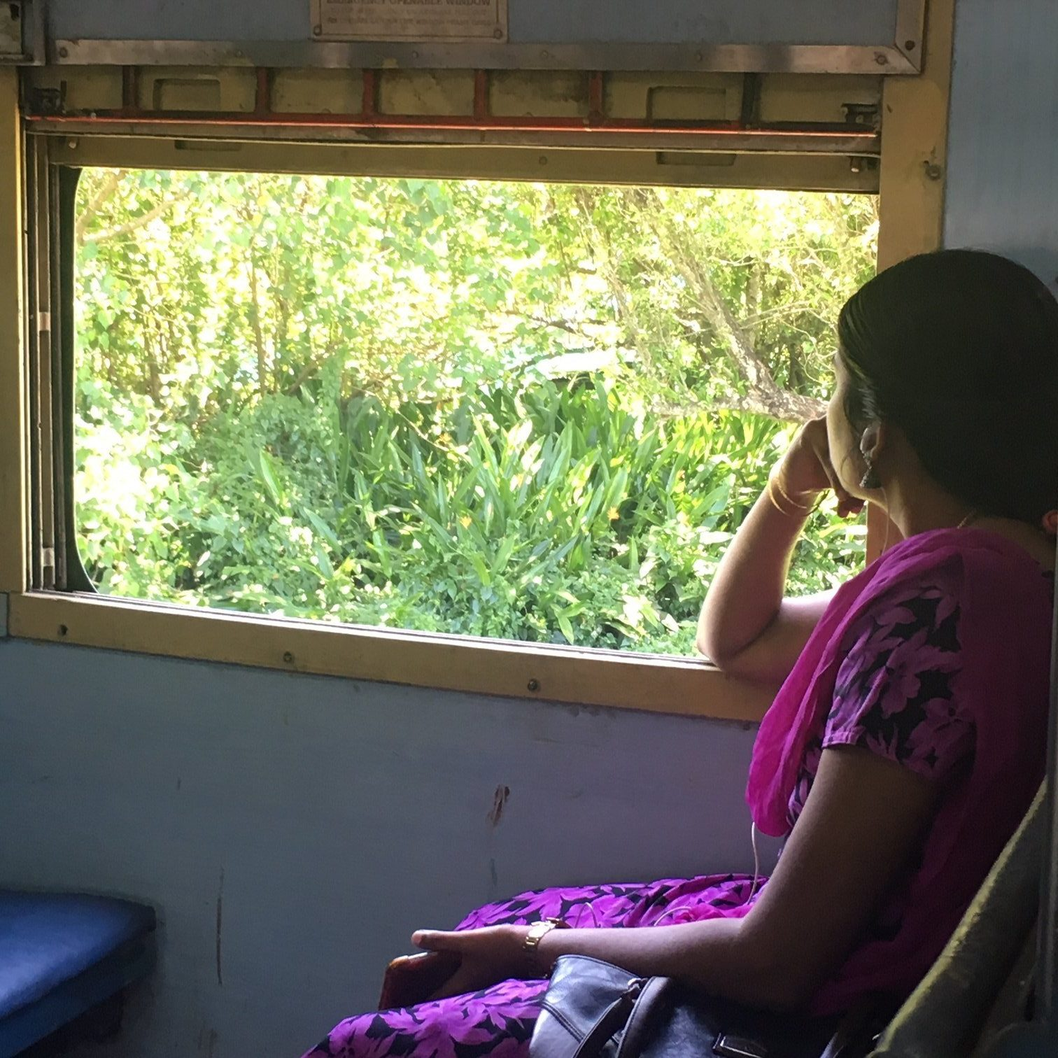 Kerala train passenger