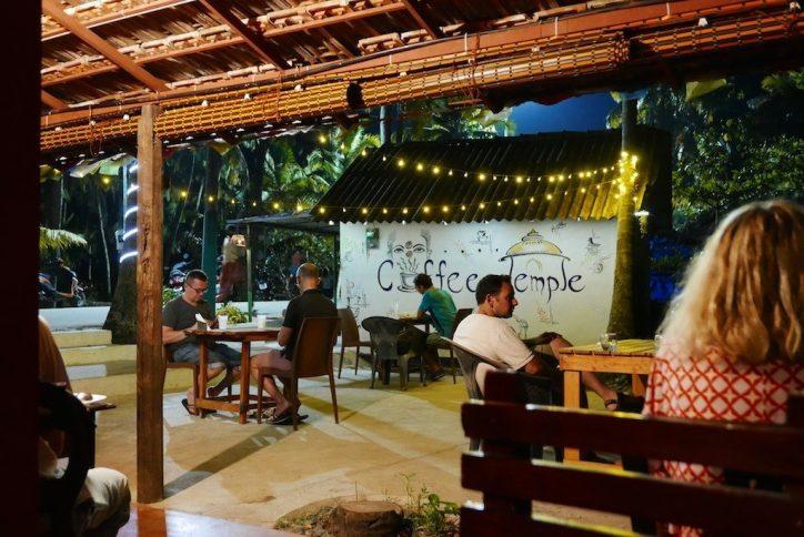 Kerala Marari Beach Coffee Temple restaurant
