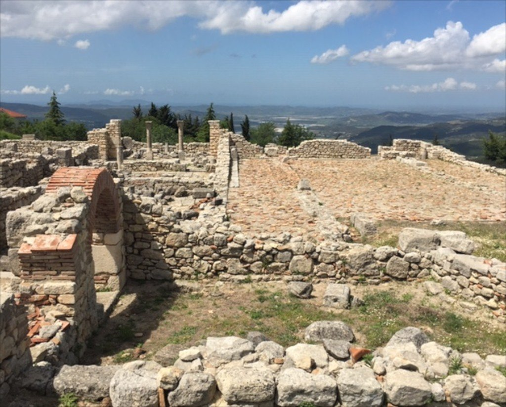 Albania, Byllis, ancient Illyrian site