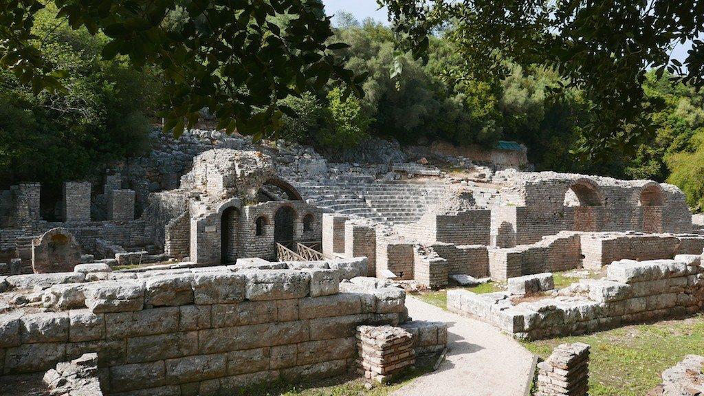 Butrint - a 3rd century Roman theatre