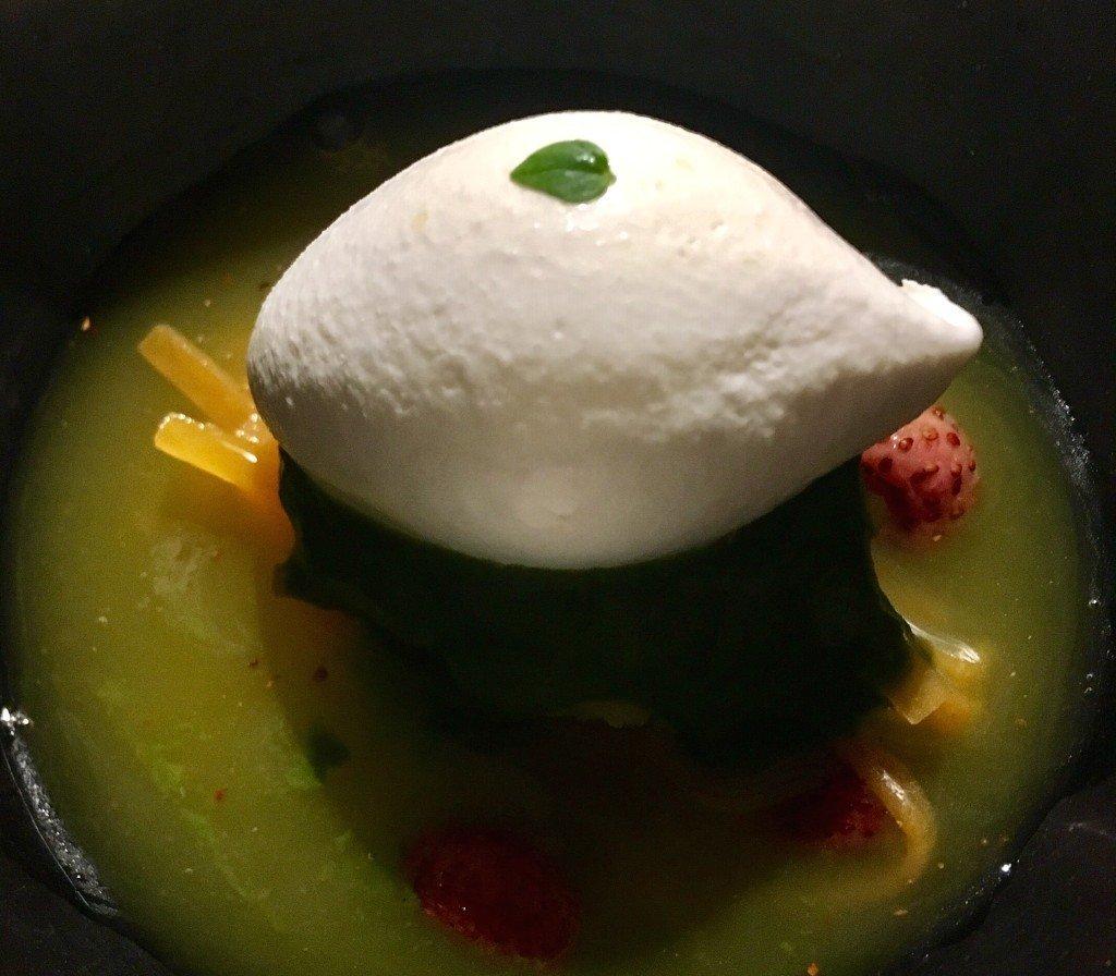 Noor dessert: orangeblossom soup