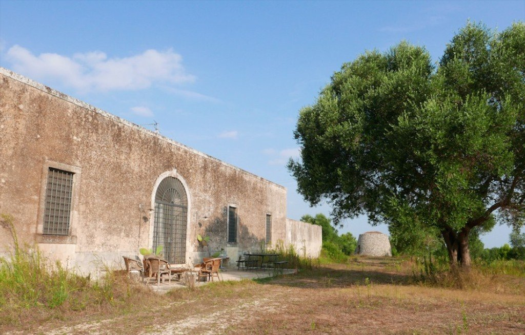 Puglia, Salento masseria in olive grove