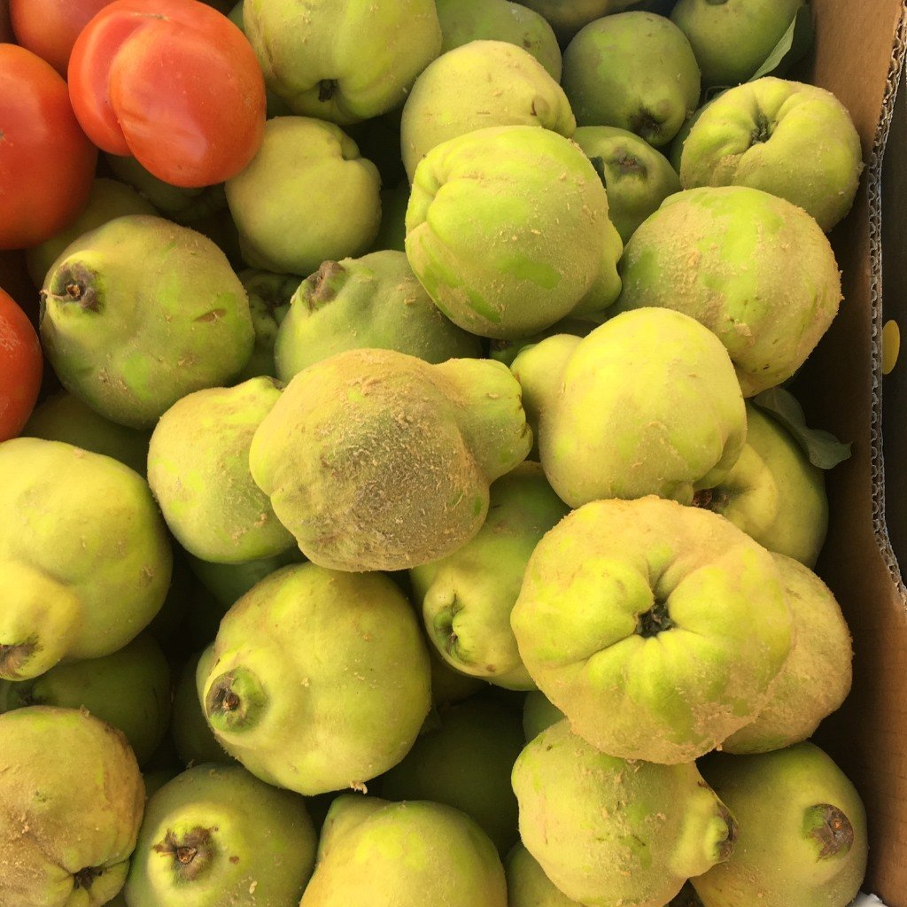 crate of quince