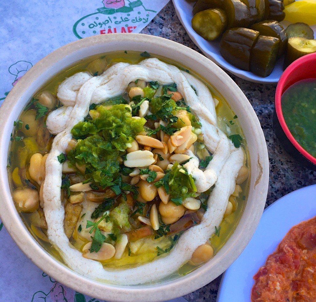 Jordanian breakfast