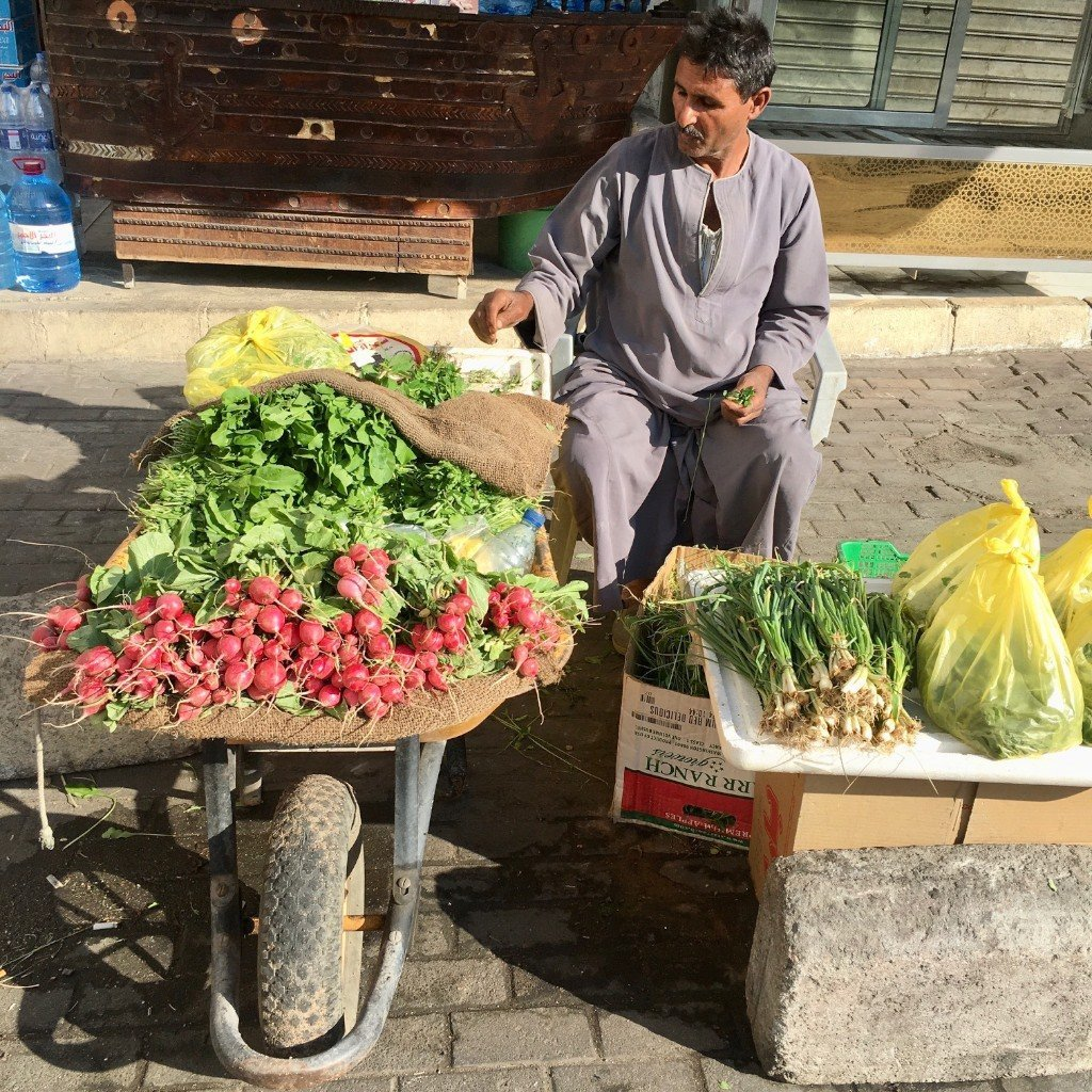 Aqaba vegetable market