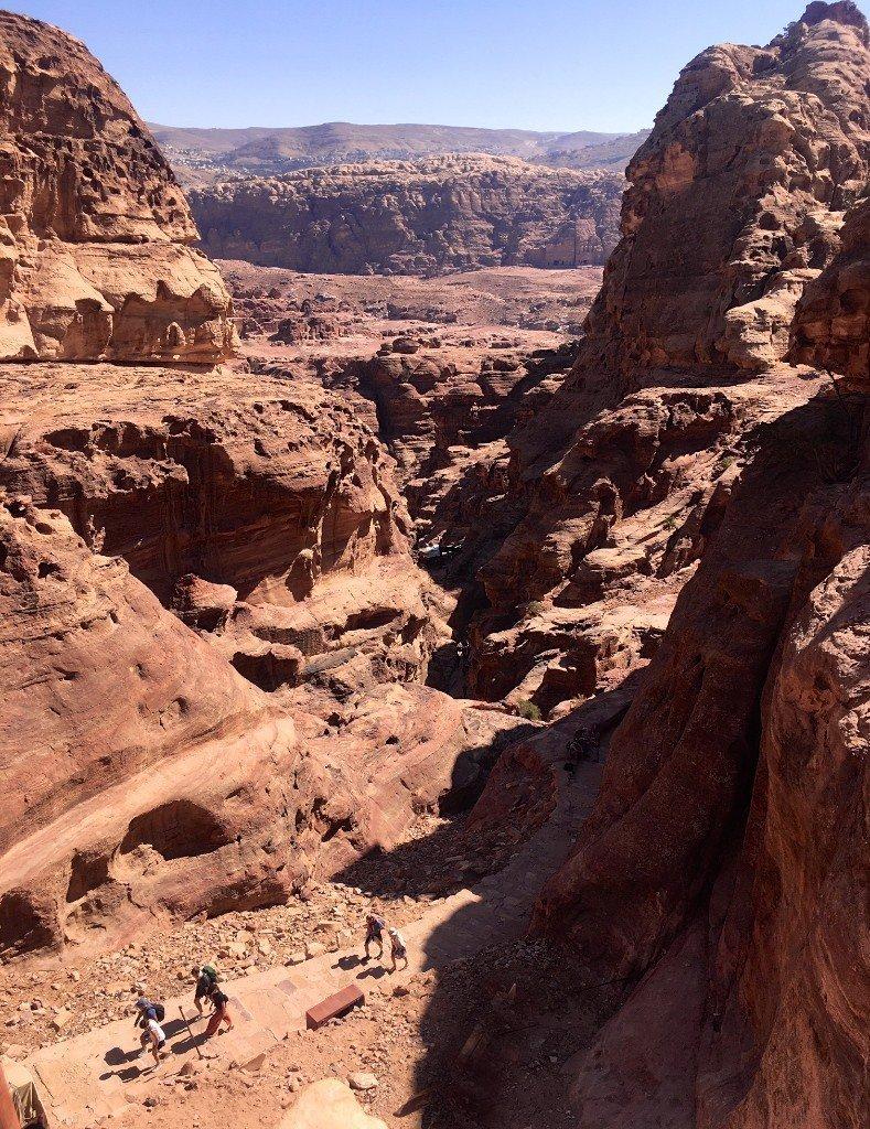 Petra - the climb to the Monastery