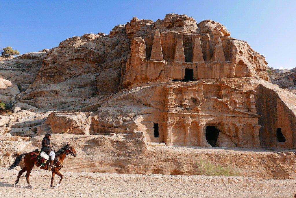 Petra - Bedouin horserider by Djinn Blocks