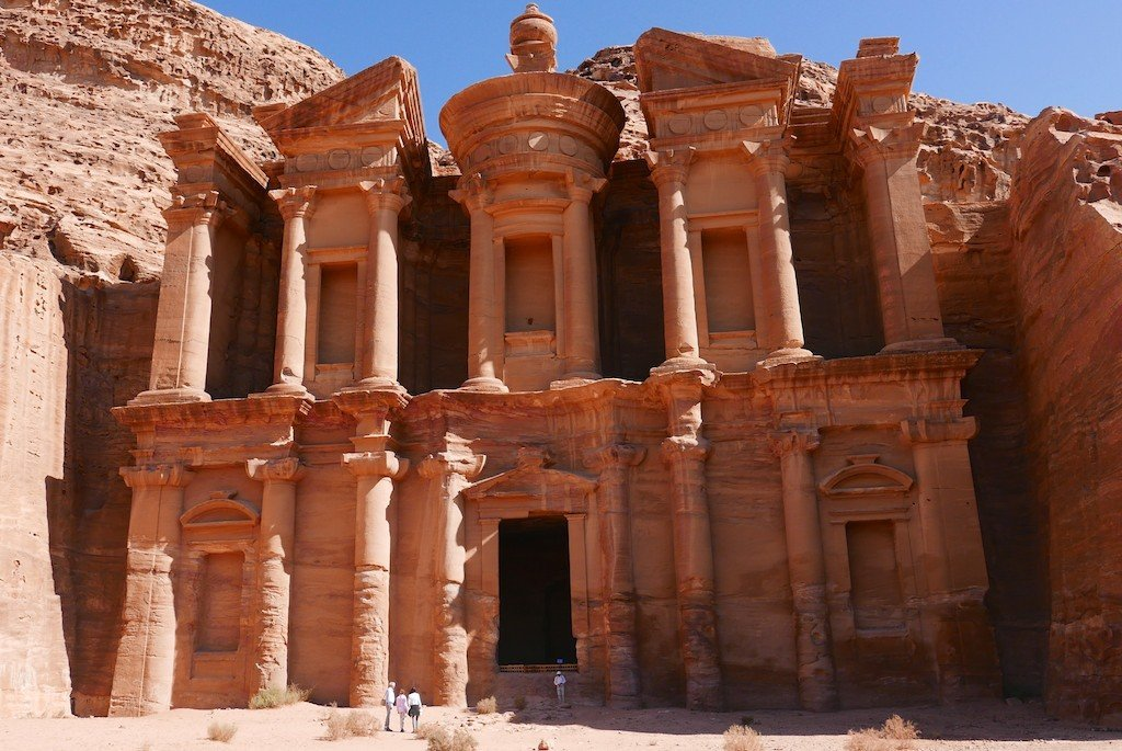 Petra - the Monastery or Ad Dheir