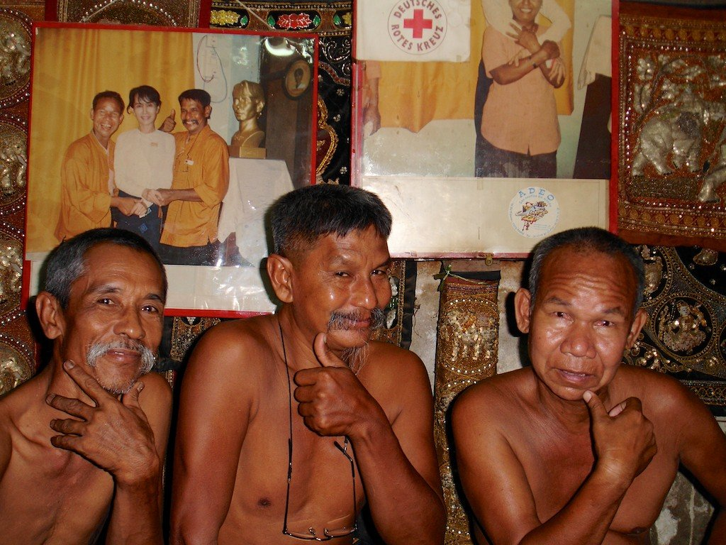Burma, Mandalay, the Moustache Brothers