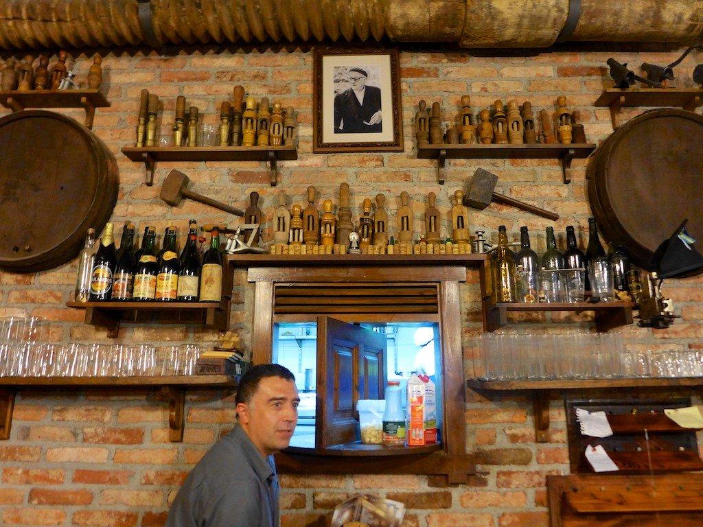 Asturias cider bar