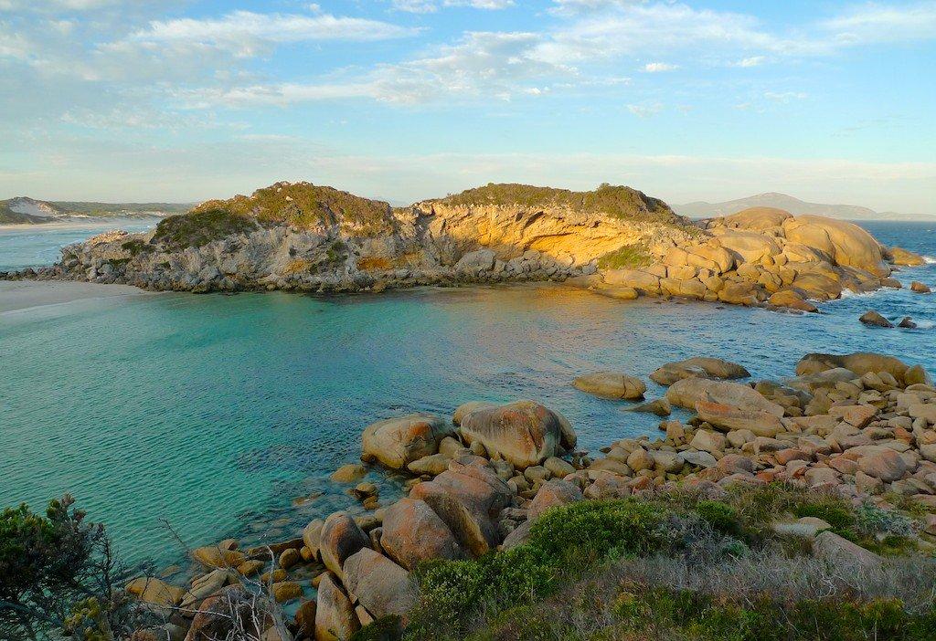 Southwest Australia, ocean, island