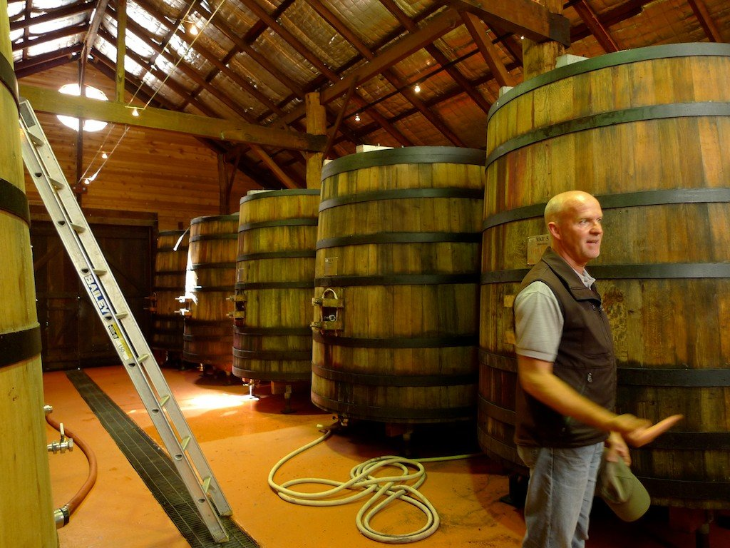 Australia, Cape Mentelle winery, wine casks