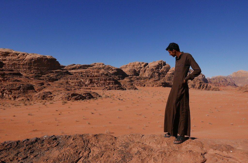 Jordan, Wadi Rum, desert, sandstone, Bedouin guide
