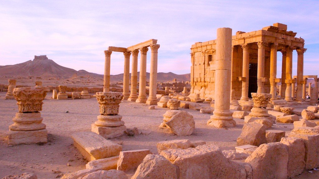 Palmyra's temple of Baal Shamin