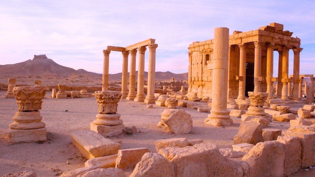 Palmyra's temple of Baal Shamin