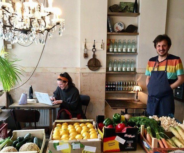 Trangallan vegetable shop