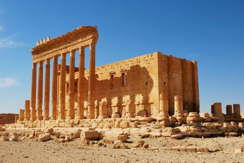 Palmyra / Bel temple