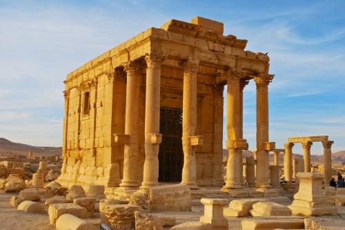 Palmyra/ Temple of Baal Shamin