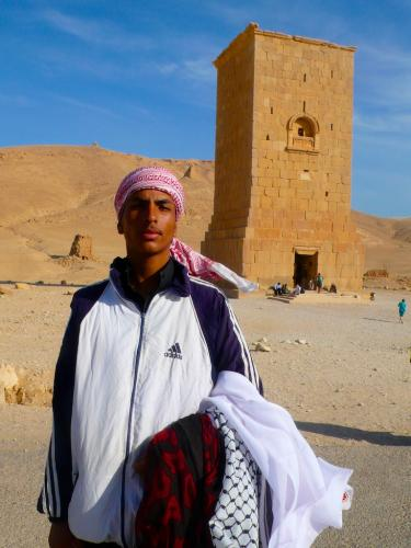 Palmyra / Tower of Elhabel - keffiyeh-seller