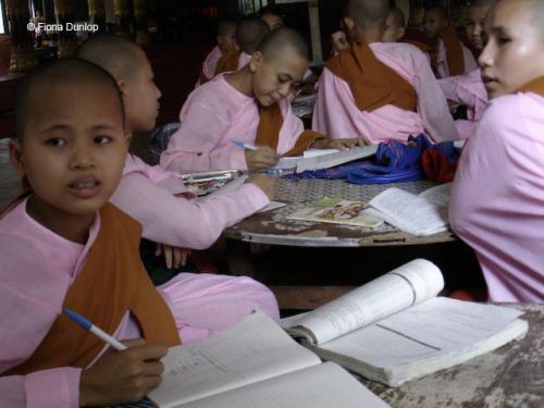 Schoolchildren, Yangon