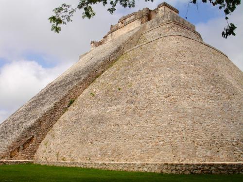 Uxmal, Mayan pyramid, Yucatan